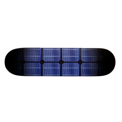 Cool 3d Solar Panel Modern Stylish Design Skateboard