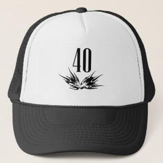 Cool 40th Birthday Gift Trucker Hat