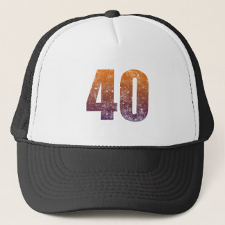 Cool 40th Birthday Gift Trucker Hat