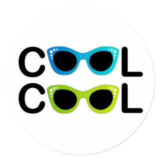 """COOL 5.25"""" SQUARE INVITATION CARD"""