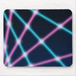 Cool 80s Laser Light Show Background Retro Neon
