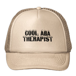 Cool ABA Therapists (Blk) Trucker Hat