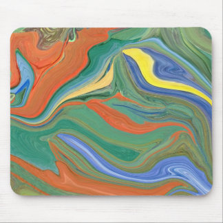 Cool abstract art on a mousepad