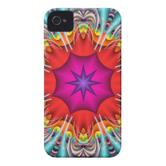 Cool abstract kaleidoscope iPhone 4 cover