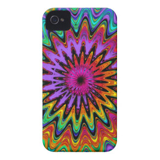 Cool abstract spiral iPhone 4 case