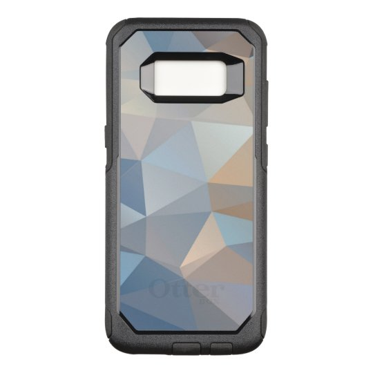 Cool Abstract Triangle Pattern OtterBox Commuter Samsung Galaxy S8 Case