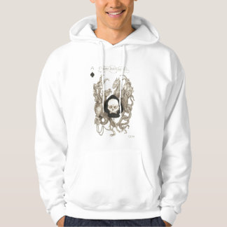 Cool Ace of Spades with dragons Hoodie