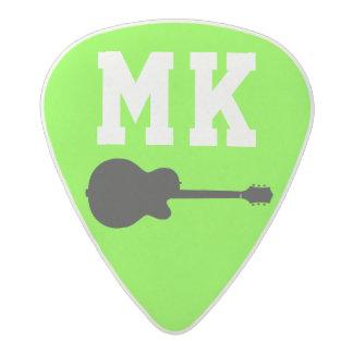 cool acid neon green rock guitar pick acetal guitar pick