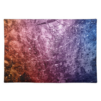 Cool Acrylic colors splash texture background Placemat