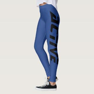 Cool Active Sport Blue Leggings