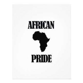cool african designs letterhead design