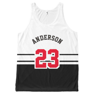Cool All Sport Name, Number and Team All-Over-Print Tank Top