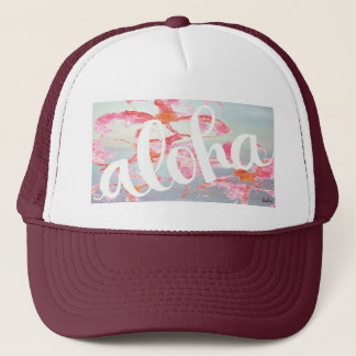 Cool Aloha Trucker Hat