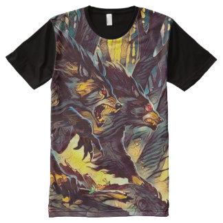 Cool Alpha Male Werewolf Dark Horror Fantasy Art