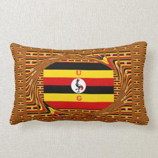 Cool Amazing Colorful Uganda the pearl of Africa Lumbar Pillow