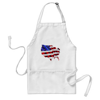 Cool America, US/USA, SAD flag, Sochi games Standard Apron