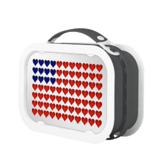 Cool American Flag Lunch Box (Multiple Colors) No2