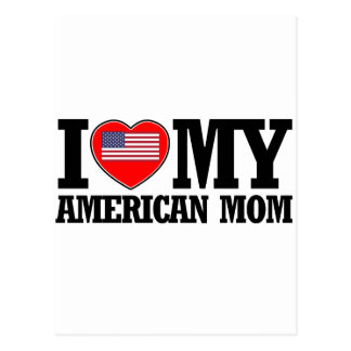 cool american  mom designs postcard