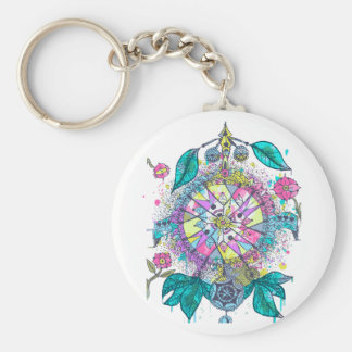 Cool and colorful dreamcatcher keychain