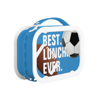 Cool and Fun Best Lunch Ever Sport Theme Lunch Box