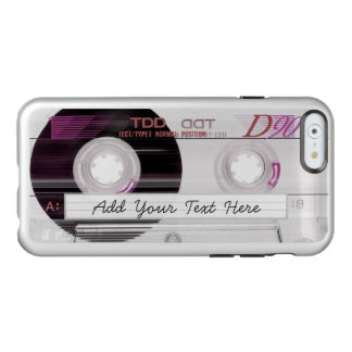 Cool and Fun - Humorous Old Music Cassette Tape Incipio Feather® Shine iPhone 6 Case