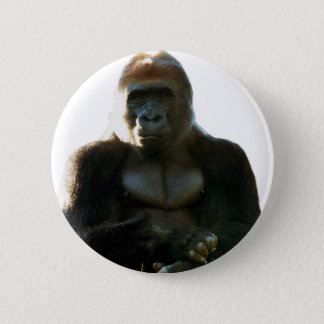 Cool and Funny Gorilla Monkey Animal 2 Inch Round Button