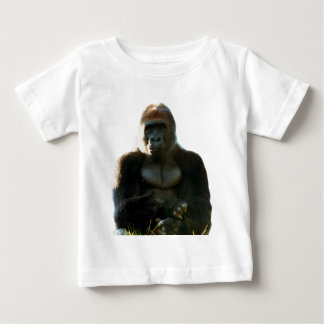 Cool and Funny Gorilla Monkey Animal Baby T-Shirt