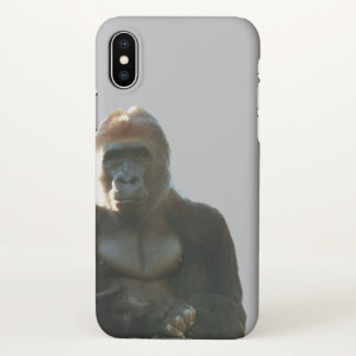 Cool and Funny Gorilla Monkey Animal iPhone Case