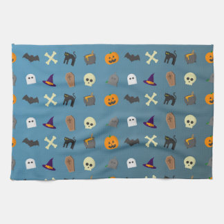 Cool and funny halloween pattern kitchen towel