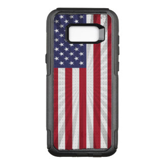 Cool and Patriotic American Flag OtterBox Commuter Samsung Galaxy S8+ Case
