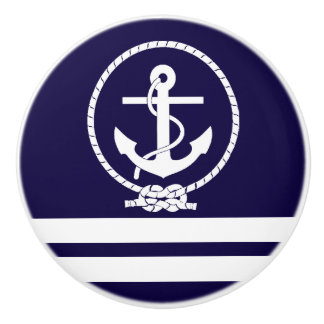 Cool and Stylish Nautical Theme Ceramic Knob
