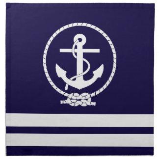 Cool and Stylish Nautical Theme Printed Napkin