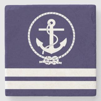 Cool and Stylish Nautical Theme Stone Coaster