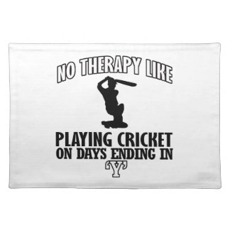 cool and trending CRICKET DESIGNS Placemat