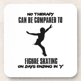 cool and trending Figure skating DESIGNS Coaster
