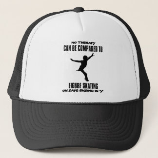 cool and trending Figure skating DESIGNS Trucker Hat