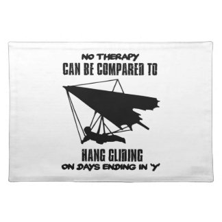 cool and trending Hang gliding DESIGNS Placemats