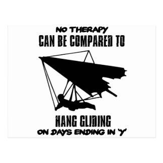 cool and trending Hang gliding DESIGNS Postcard