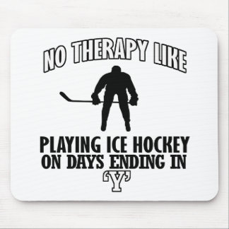 cool and trending Ice Hockey DESIGNS Mouse Pad