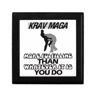 cool and trending Krav maga designs Gift Box