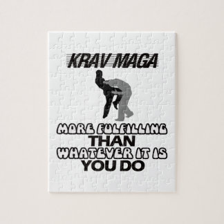 cool and trending Krav maga designs Jigsaw Puzzle