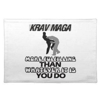 cool and trending Krav maga designs Placemat