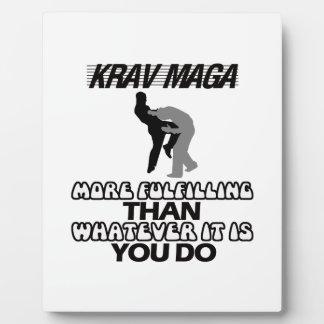 cool and trending Krav maga designs Plaque