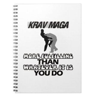 cool and trending Krav maga designs Spiral Note Book