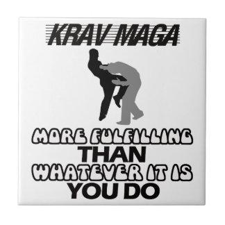 cool and trending Krav maga designs Tile