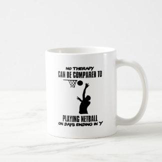 cool and trending netball DESIGNS Coffee Mug