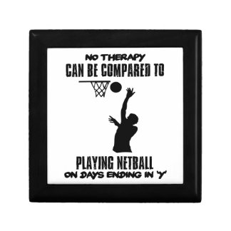 cool and trending netball DESIGNS Gift Box