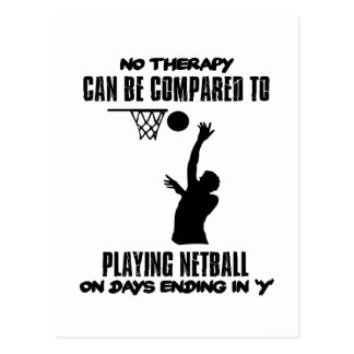 cool and trending netball DESIGNS Postcard