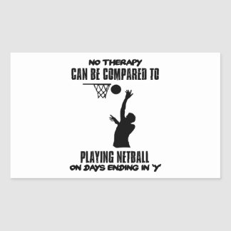 cool and trending netball DESIGNS Sticker