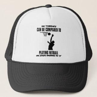 cool and trending netball DESIGNS Trucker Hat